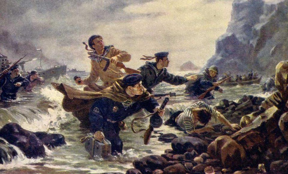 Плотнов Андрей. Десант на Курильских островах.