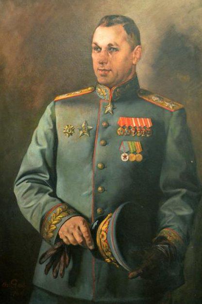 Яковлев Василий. Портрет маршала К.К.Рокоссовского.
