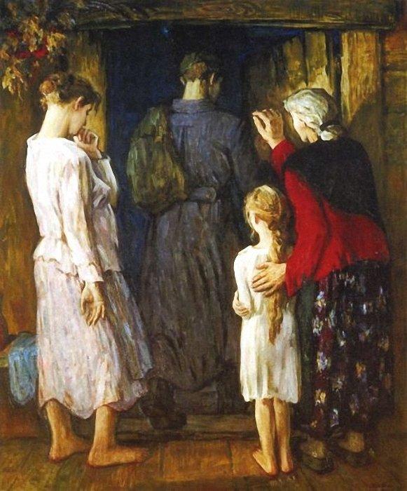 Хайрулинов Ильбек. Благословление матери.