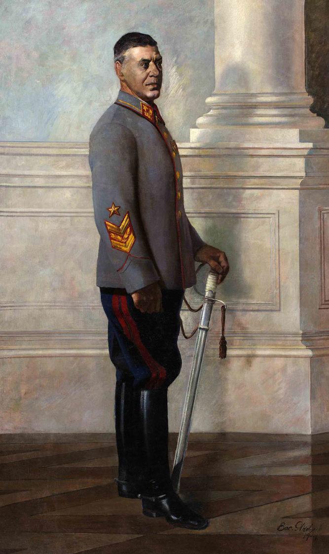 Яковлев Василий. Портрет генерала Шапошникова.
