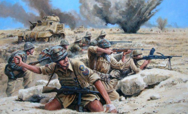 Pentland David. Оборона в пустыне.
