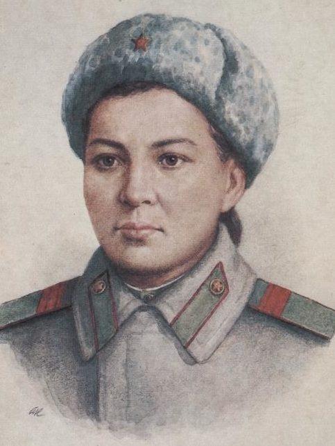 Кручина Александр. Герой Советского Союза М. Маметова.