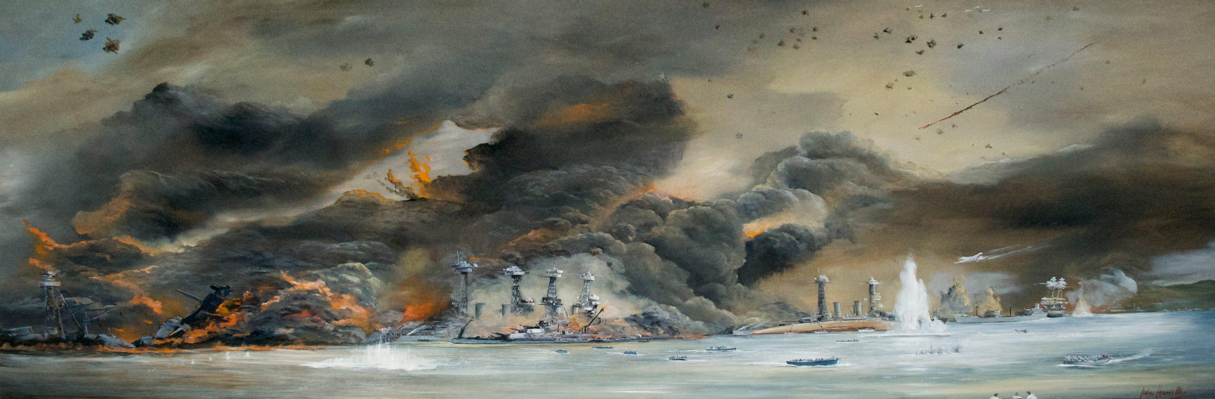 Hamilton John. Налет на Pearl Harbor.