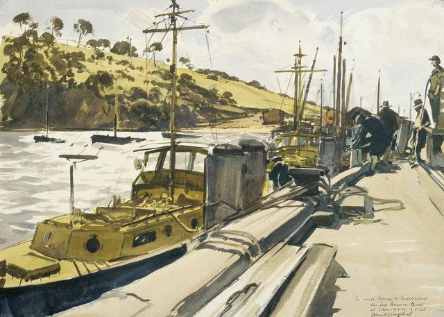Goodchild John. Спасательные катера RAAF