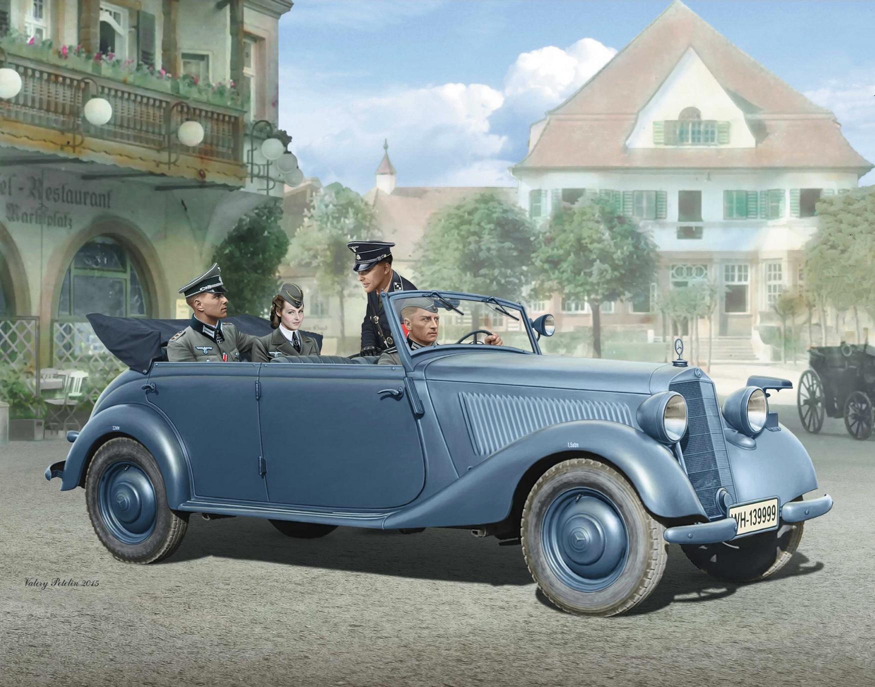 Петелин Валерий. Mercedes-Benz 170V Tourenwagen.