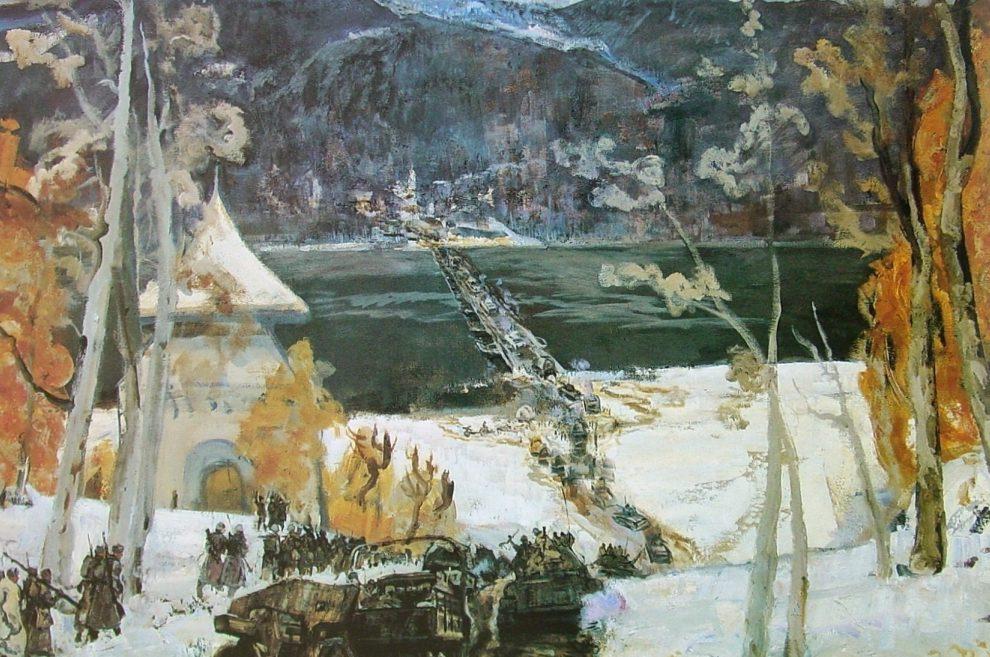 Севостьянов Геннадий. В горах Трансильвании.