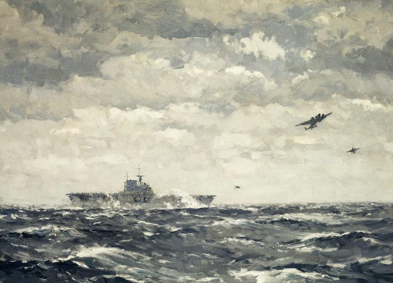 Wilkinson Norman. Авианосец.