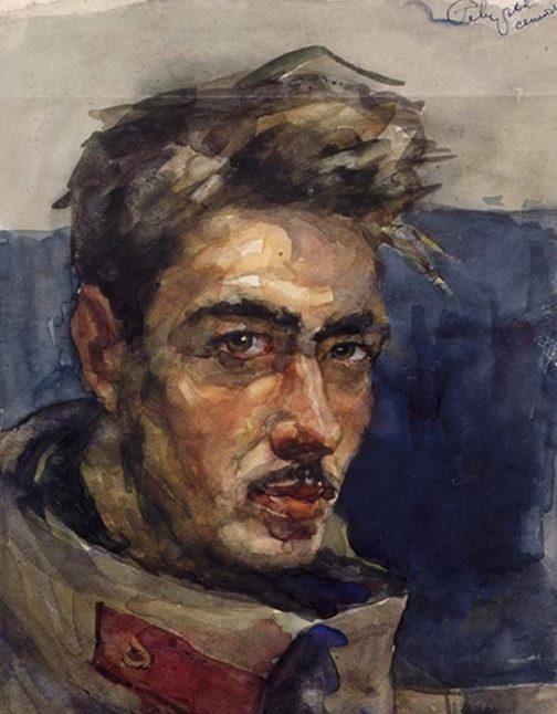 Севостьянов Геннадий. Солдат.