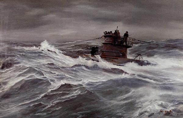 Hamilton John. Подлодка U-309.