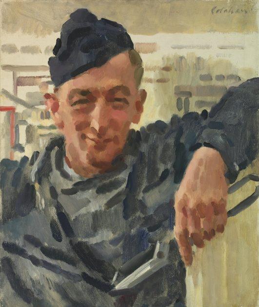 Colin Colahan. Старший сержант наземного обслуживания Oswald.