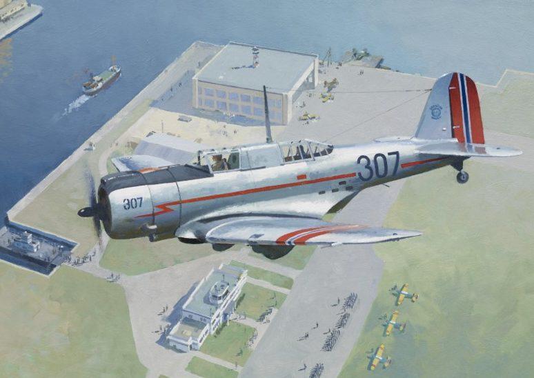 Middlebrook Roger. Штурмовик Northrop 8-A.