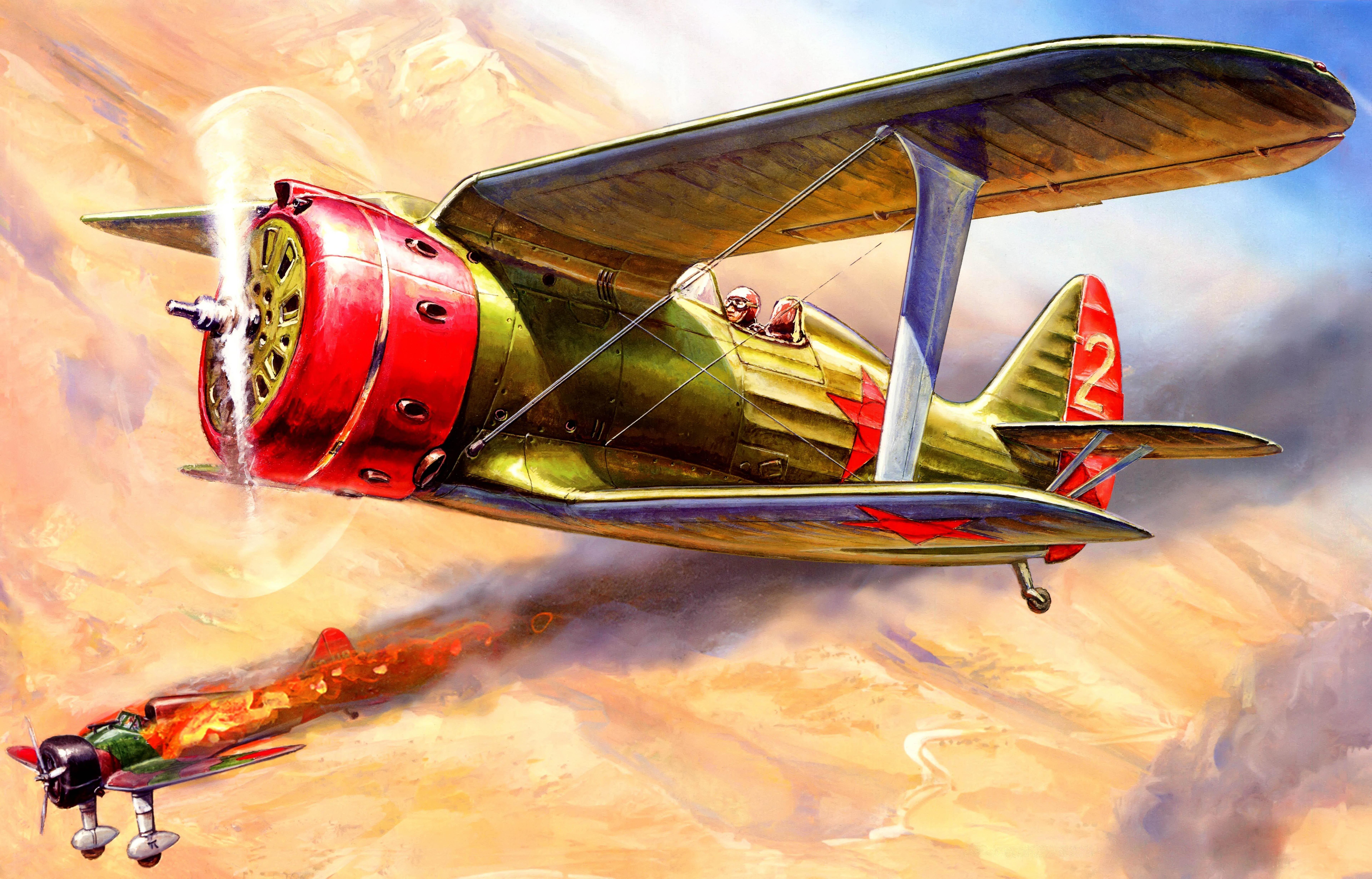 Жирнов Андрей. И-153 «Чайка».