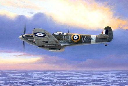 Brown Stephen. Истребитель Supermarine Spitfire Mk Vb.