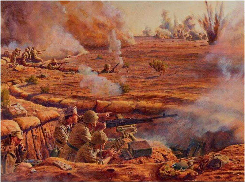 Noon Steve. Северная Африка, 1942.