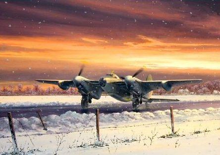 Brown Stephen. Бомбардировщик Mosquito B Mk XVI.