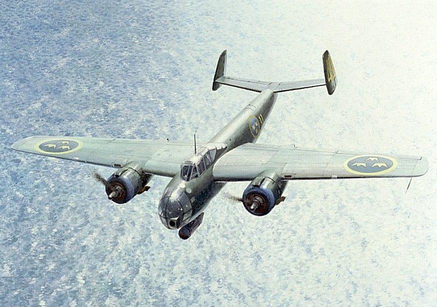 Middlebrook Roger. Торпедоносец SAAB B-18.