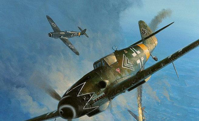 Postlethwaite Mark. Воздушный бой.