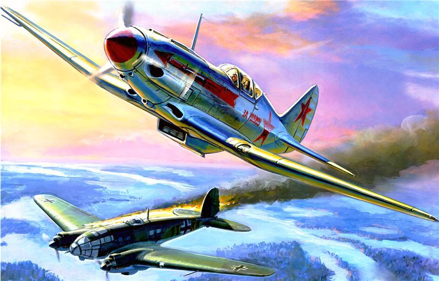 Жирнов Андрей. Истребитель Миг-3.