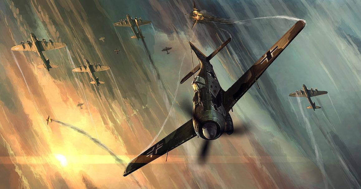 Zhou Lothar. Истребитель FW-190D.