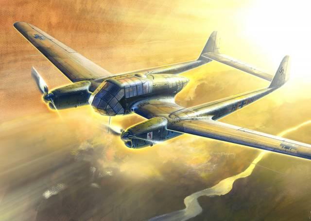 Подгорный Денис. Самолет-разведчик Fw 189A-1.