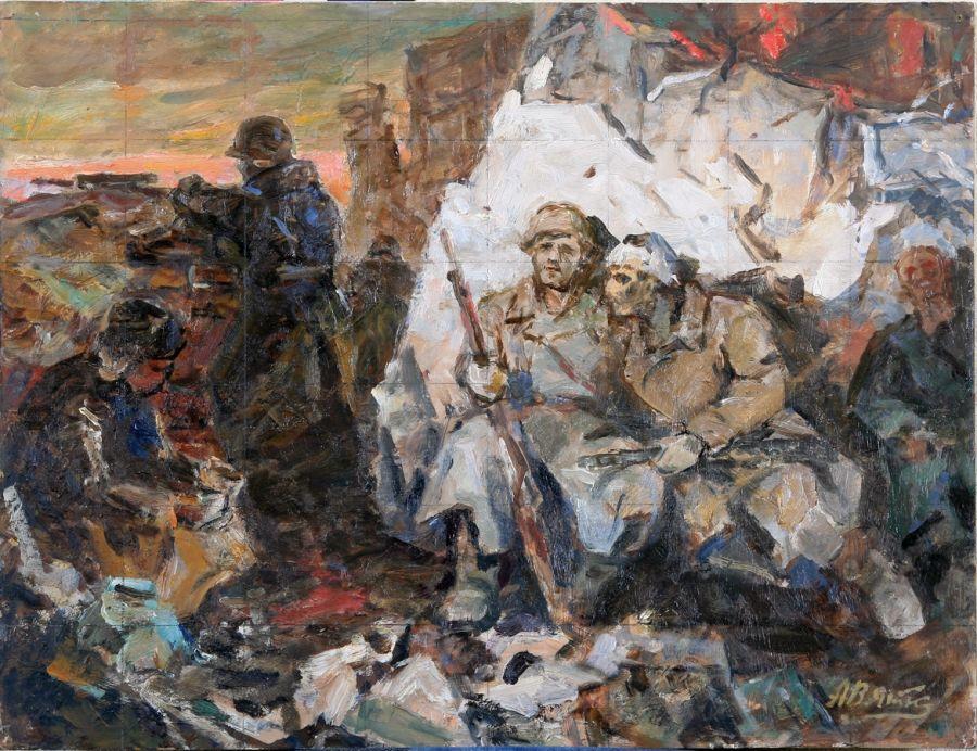 Вяткин Александр. Солдаты 41-го.
