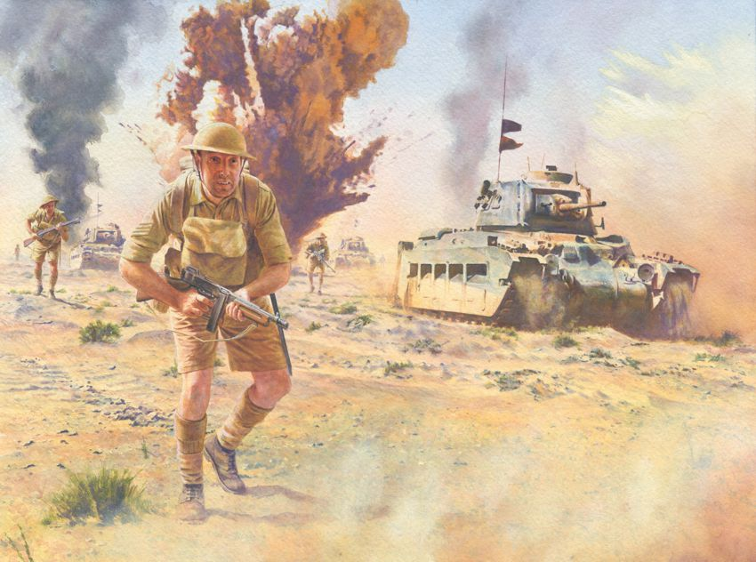 Noon Steve. Атака в пустыне.