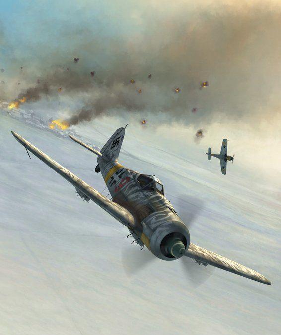 Boucher Jerry. Истребитель Fw-190F.