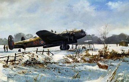 Brown Stephen. Бомбардировщик Lancaster.