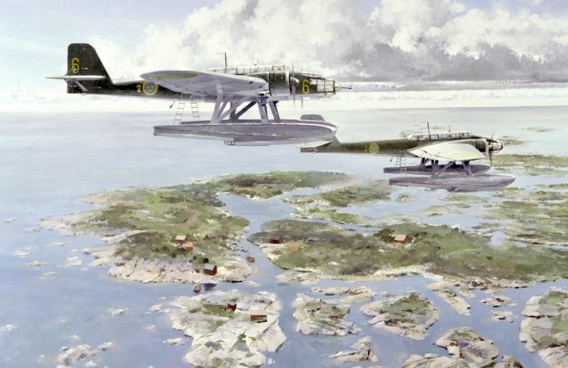 Middlebrook Roger. Гидросамолеты Heinkel He-115.
