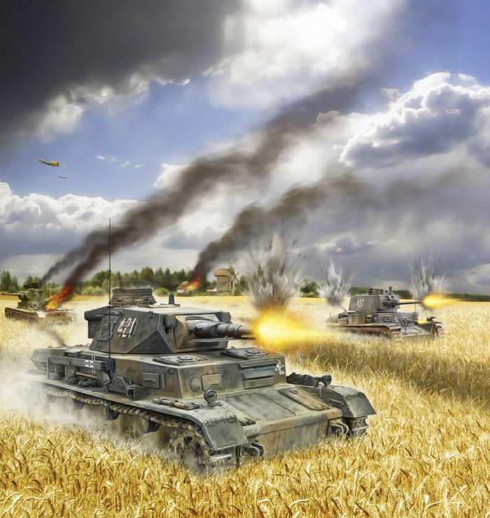 Петелин Валерий. Танк Panzer IV.
