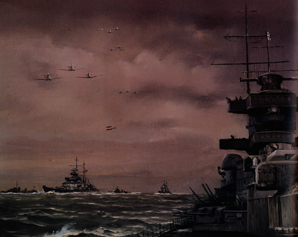 Hamilton John. Флот в походе.