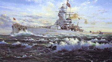 Atack Simon. Линкор «Graf Spee».