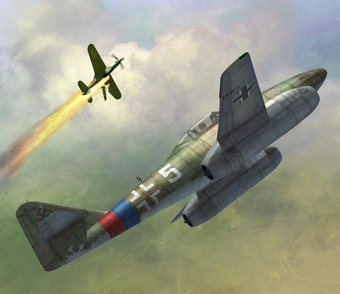 Boucher Jerry. Истребитель Ме-262.