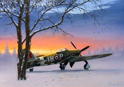 Brown Stephen. Истребитель Hawker Typhoon IB.