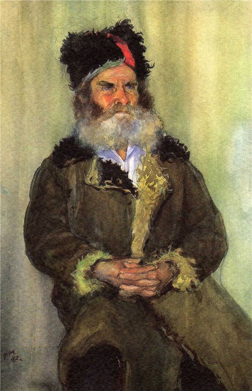 Жуков Николай. Партизан – дед Михайло.
