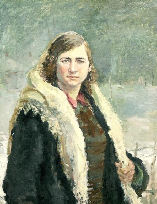Вьюев Павел. Портрет Чайкиной Елизаветы.