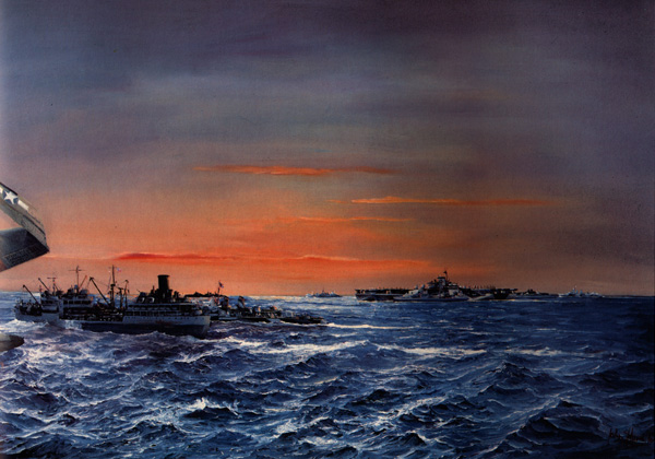 Hamilton John. Война на море.