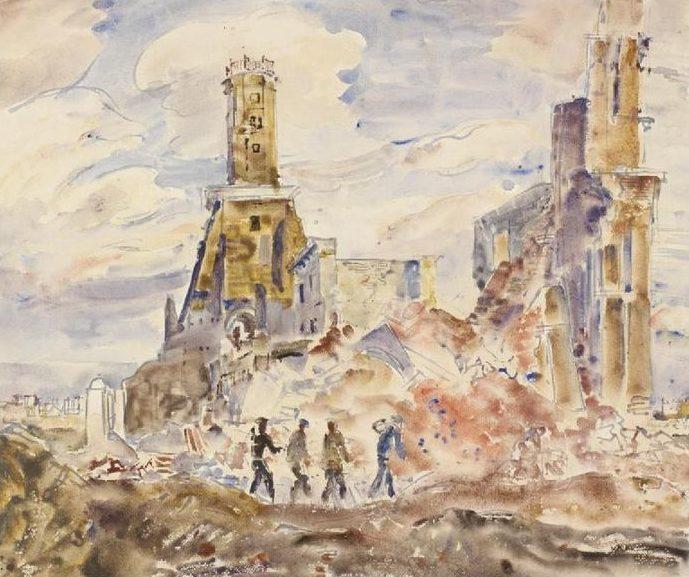 Hennell Thomas. Руины города.