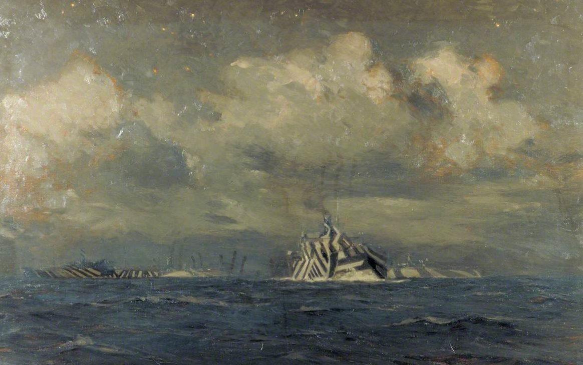 Wilkinson Norman. Камуфляж кораблей.