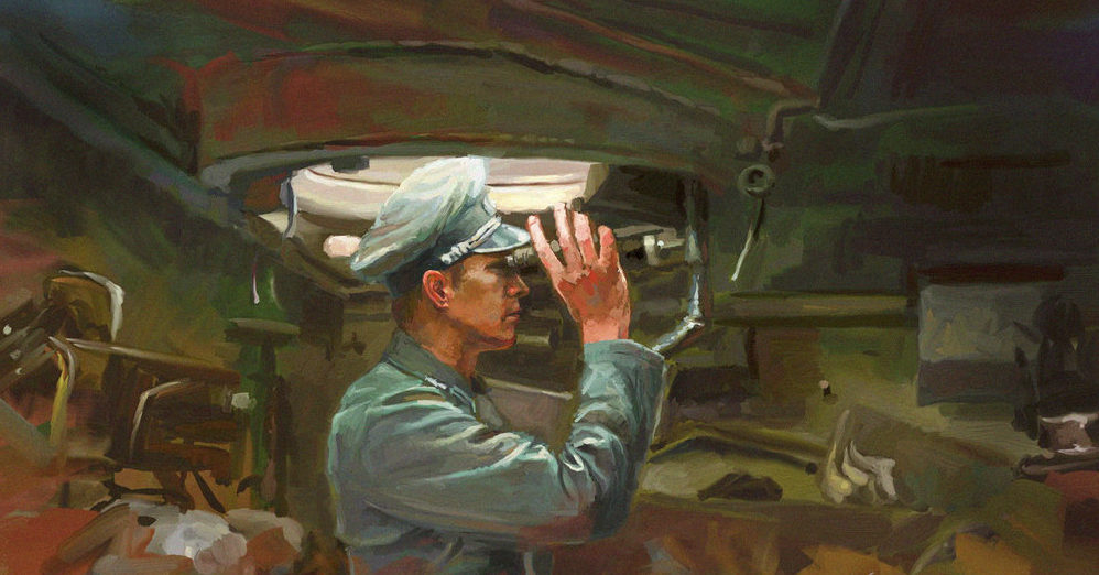 Zhou Lothar. В рубке САУ STUG III.