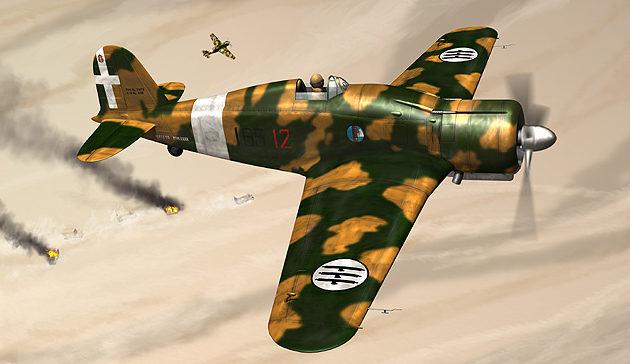 Boucher Jerry. Истребитель Fiat G.50bis.
