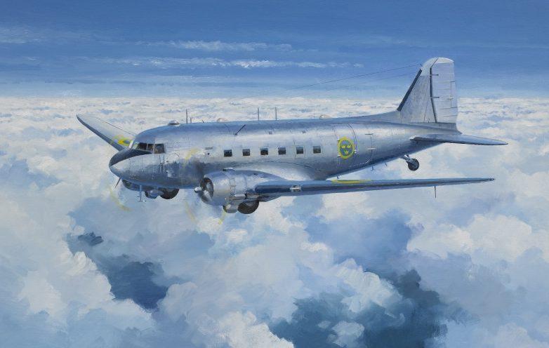 Middlebrook Roger. Транспортно-пассажирский самолет Douglas DC-3.