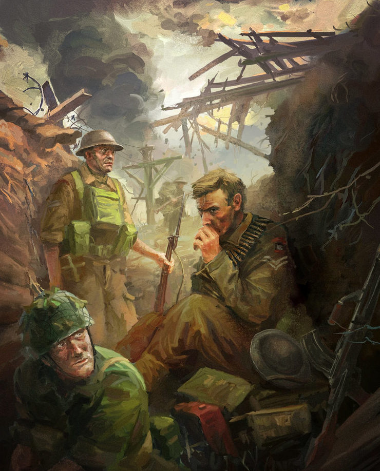 Zhou Lothar. Британская пехота.