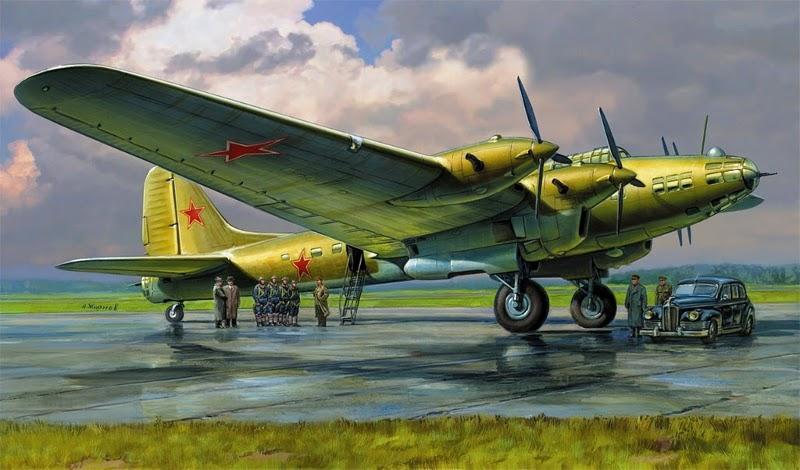 Жирнов Андрей. Ответственный вылет на Пе-8.