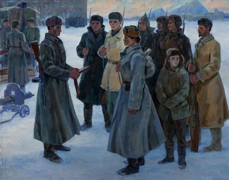 Журавлев В. Добровольцы Донбасса.