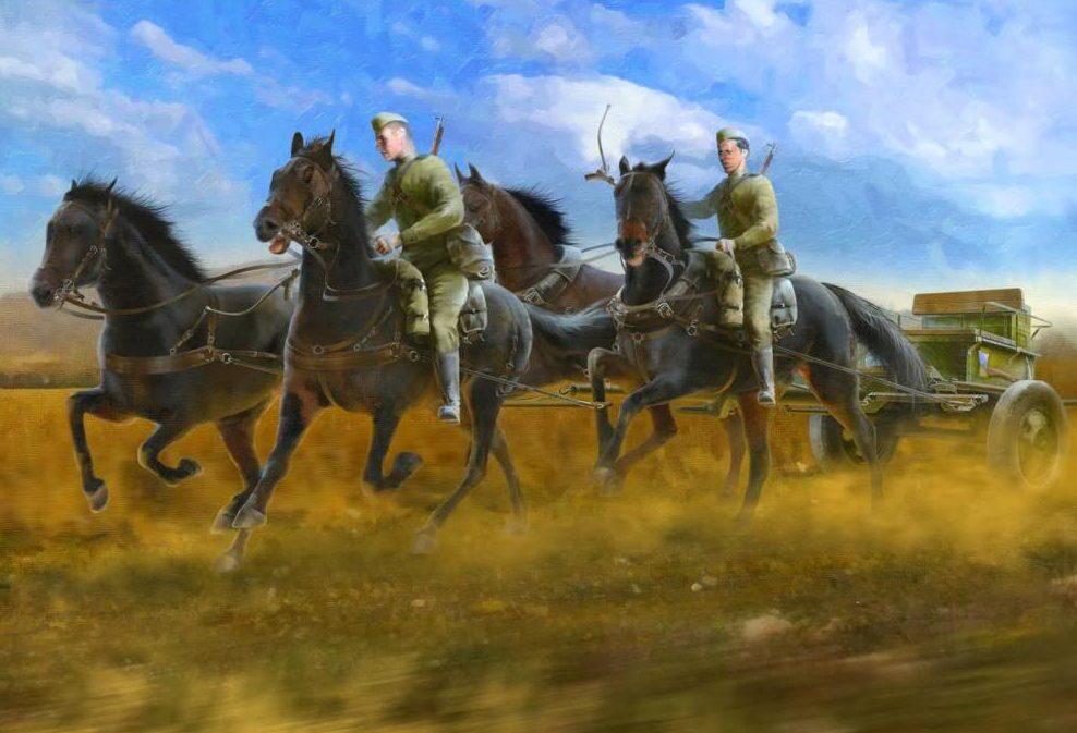 Подгорный Денис. Полковые артиллеристы.