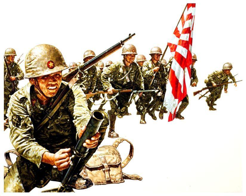 Bechennec Daniel. Японская пехота.