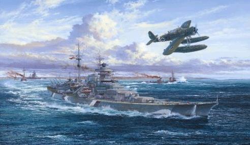 Atack Simon. Линкор «Bismarck».