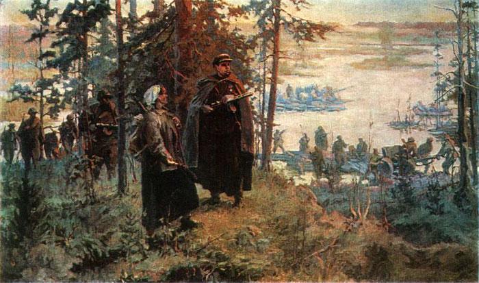 Гавриленко Петр. Слияние рек.