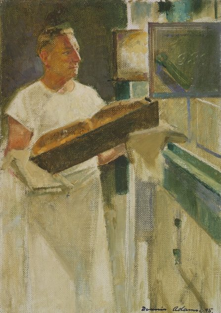 Adams Dennis. Пекарь на крейсере «Shropshire».